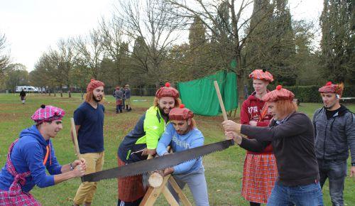 Highland Games bij Avenature