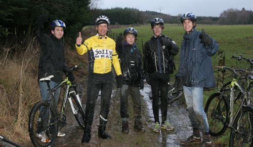 mountainbike in de ardennen