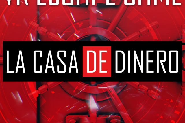 virtual escape room casa de papel